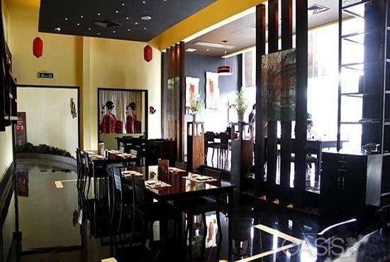 华南国际大酒店枫叶日本料理工程案例